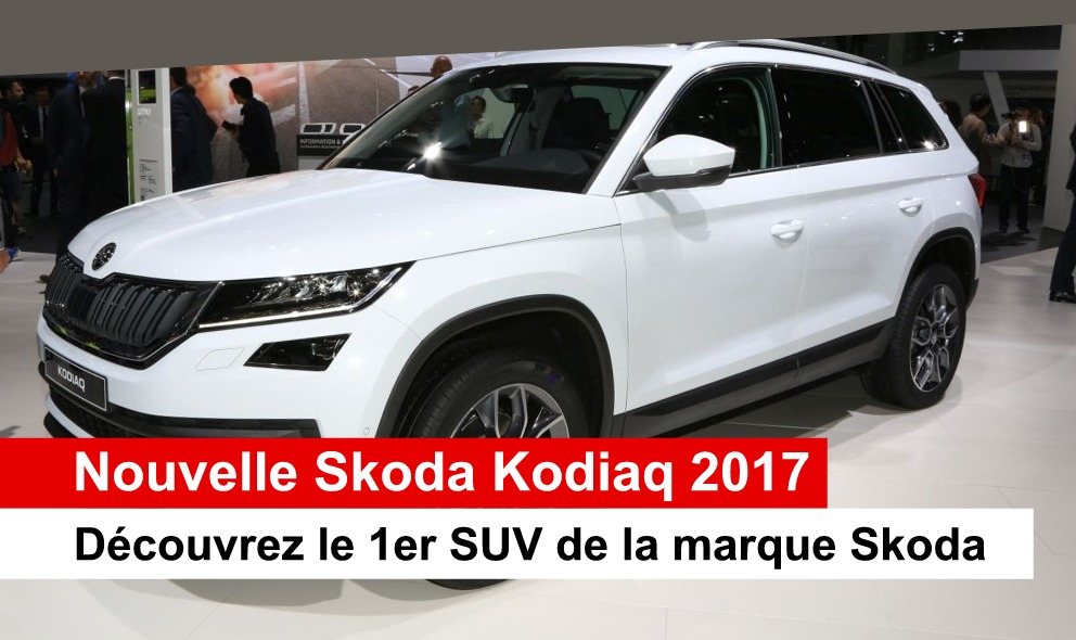 nouvelle skoda kodiaq 2017 en suisse auto2day. Black Bedroom Furniture Sets. Home Design Ideas