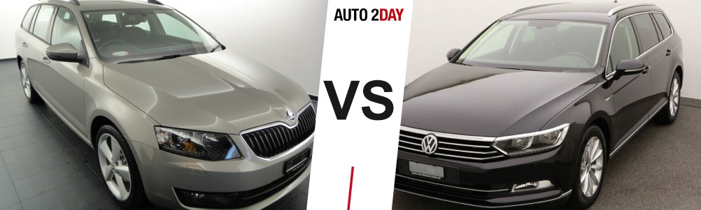 vw passat vs skoda octavia 2017 comparatif avis auto2day. Black Bedroom Furniture Sets. Home Design Ideas