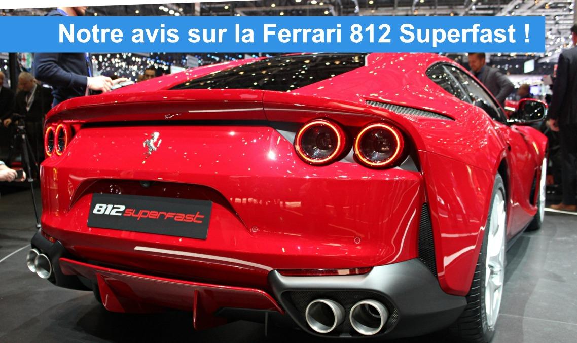 nouvelle ferrari 812 superfast sion geneve suisse