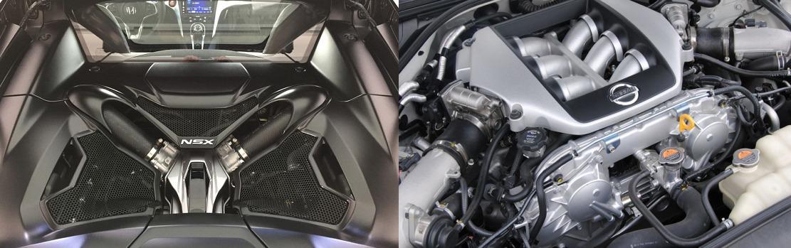 honda nsx 2017 vs nissan gtr 2017 avis et comparatif performances moteur
