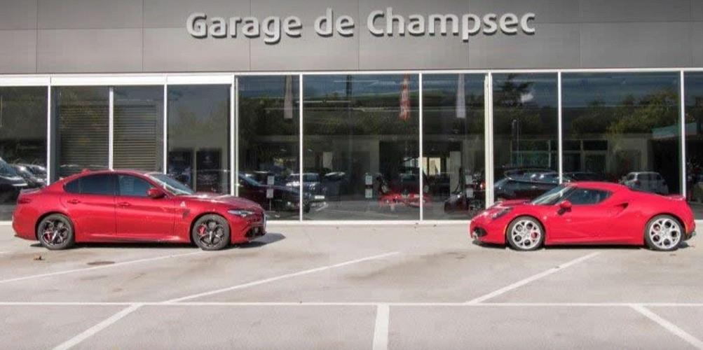 garage de champsec sion