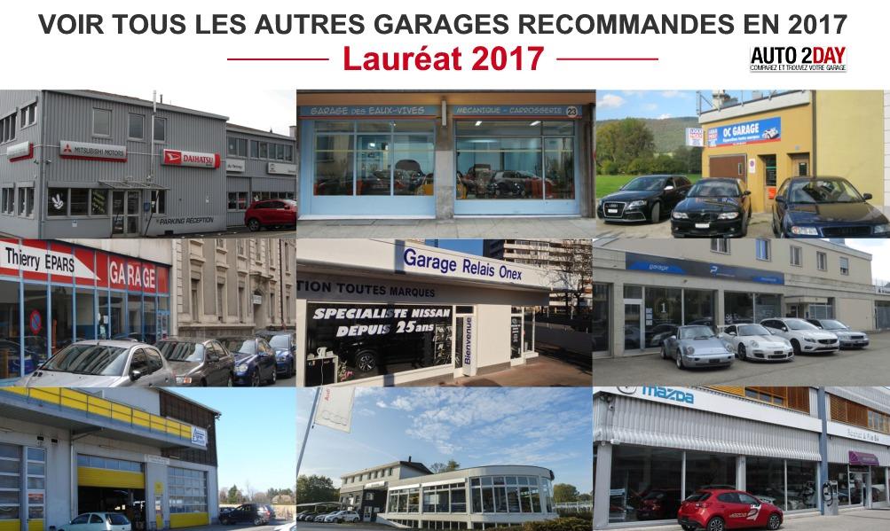 les meilleurs garages automobiles 2017 suisse
