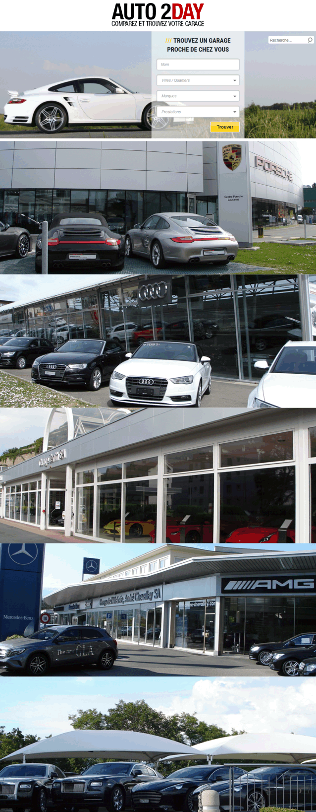 auto2day.ch le plus grand site de garage automobile en suisse romande