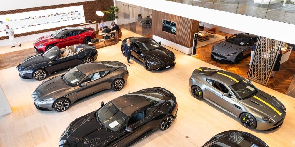 aston martin Pegasus Automotive Group nyon suisse